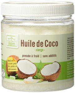 huile de coco vierge pressée à froid